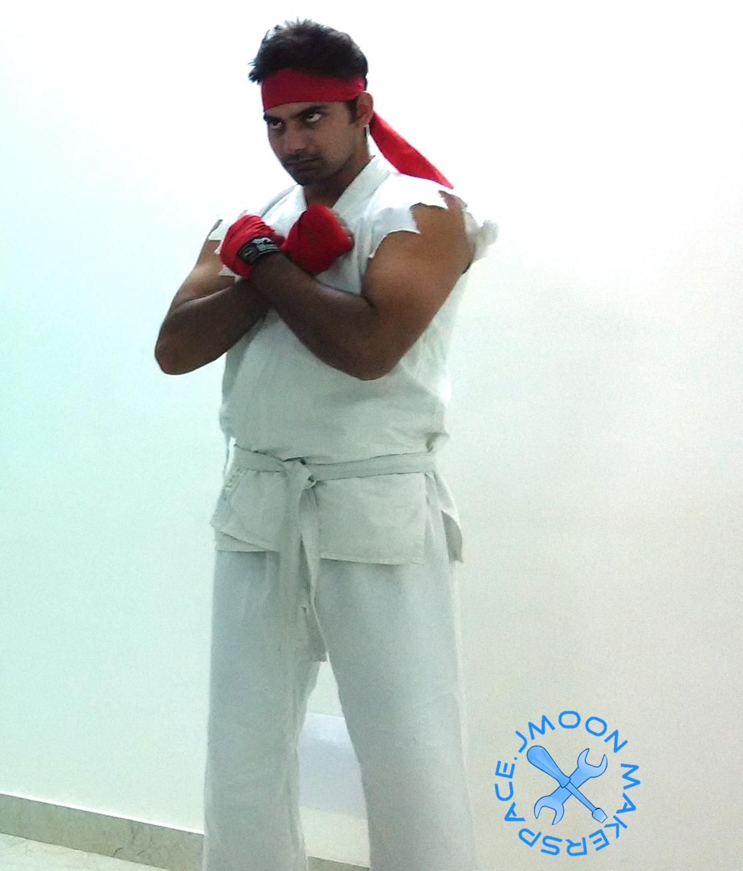 Ryu Cosplay Street Fighter