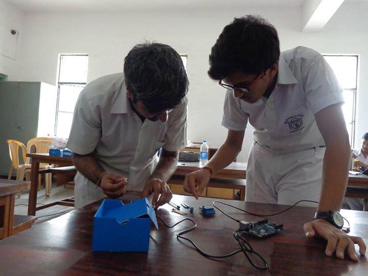 Intel Makeathon Ramjas School